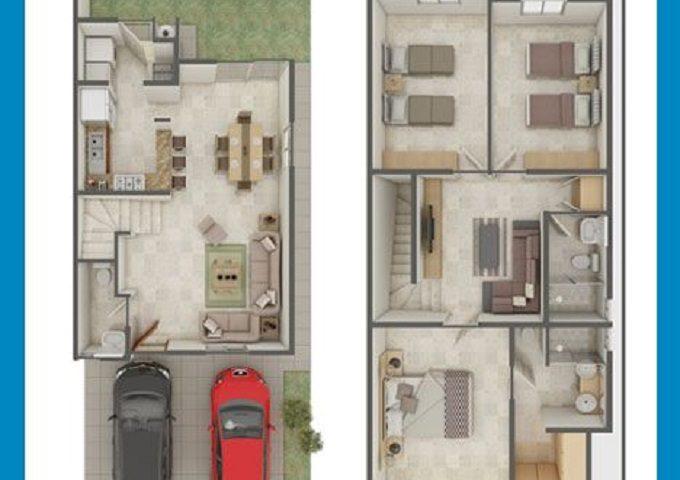Desain Rumah Mungil 2 Lantai Buat Keluarga Baru Tazora Design